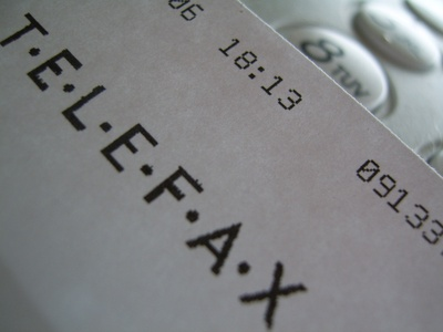 unerwünschte Faxwerbung Recht